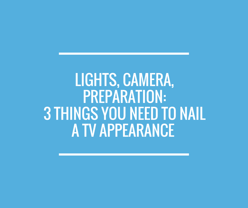 Lights, Camera, Preparation-